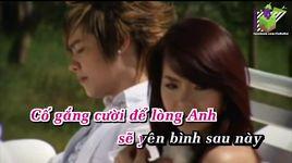 chia tay cuoi (karaoke) - minh hang, luu chi vy