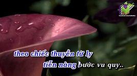 chiec thuyen tu ly (karaoke) - quoc dai