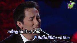 cho den cuoi cuoc doi (karaoke) - ho hoang yen, quoc khanh