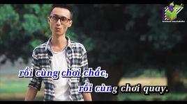 cho toi xin mot ve ve di tuoi tho (karaoke) - lynk lee