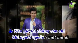 cho vua long em (karaoke) - cam ly, quoc dai