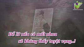 co don giua cuoc tinh (karaoke) - ho ngoc ha