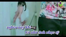 co hang xom remix (karaoke) - khanh phuong