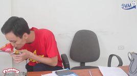 funny school (tap 1): mieng an la mieng nhuc - v.a