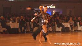 samba - marius andrei balan & khrystyna moshenska (euro dance festival 2015) - dancesport