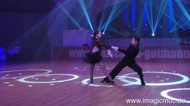 showdance latein - charles guillaume schmitt & elena salikhova (euro dance festival 2015) - dancesport