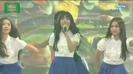 glass bead & me gustas tu (melon music awards 2015) - gfriend