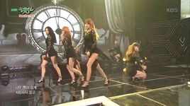 sleepless night (151127 music bank) - nine muses