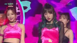 hot pink (151204 music bank) - exid