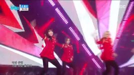 hands up (151205 music core) - wanna.b