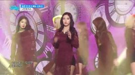 sleepless night (151212 music core) - nine muses
