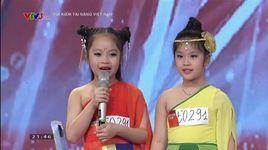 vietnam's got talent 2016 tap 1: ha bao anh & nguyen my anh - v.a