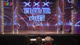 vietnam's got talent 2016 tap 2: nhay i fine.. thank you... love you - ha nhu minh, ha my - v.a