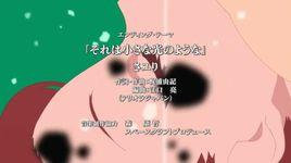 sore wa chiisa na hikari no yo na (boku dake ga inai machi ending) - sayuri
