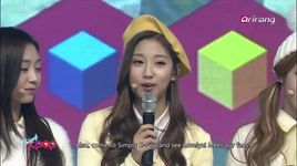 1 day counselors (160101 simply kpop) - lovelyz