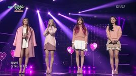 stay with you (160108 music bank) - dal shabet
