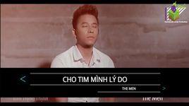 cho tim minh ly do (karaoke) - the men