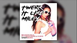 twerk it like miley (dawin remix) - brandon beal
