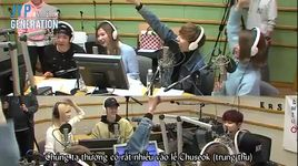 super junior kiss the radio (03.03.16) (vietsub) - mark (got7), bam bam, amber f(x), sana, momo, sorn (clc)