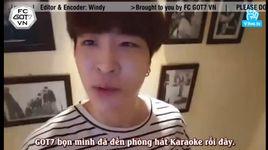 (160311 got7ing) got7 in karaoke room (vietsub) - got7