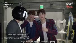 160331 m countdown no.1 backstage (vietsub) - got7