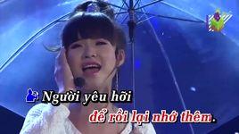 chuyen tinh mua (karaoke) - mr bo, khoi my