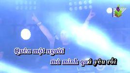 anh quen minh da chia tay remix (karaoke) - lam chan kiet