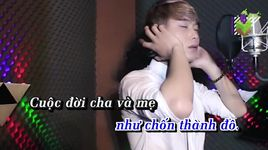 con nho me (karaoke) - lam chan kiet