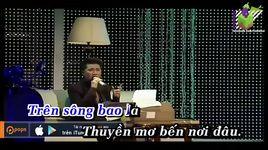 con thuyen khong ben (karaoke) - dam vinh hung