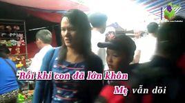 con yeu me (karaoke) - bao anh