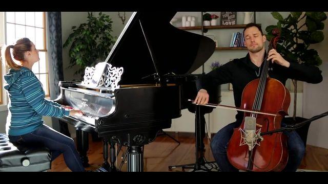Let It Go (James Bay - Cello Piano Cover) - Brooklyn Duo