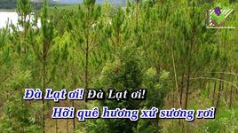 da lat hoang hon (karaoke) - dam vinh hung