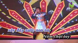 dat viet tieng vong ngan doi (karaoke) - dan truong