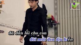 dem dong nho me (karaoke) - dinh binh