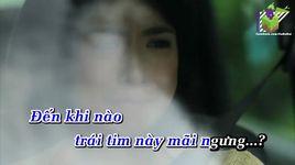 dieu uoc anh trang vang (karaoke) - khanh phuong