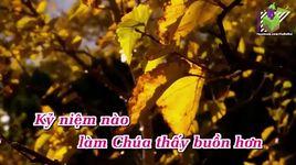 dinh troi yeu thuong (karaoke) - le hang