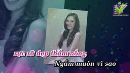 doi canh tinh yeu (karaoke) - my tam