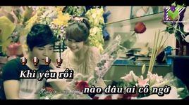 doi cho khong la hanh phuc (karaoke) - luong the minh