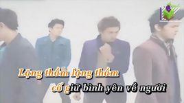 doi cho mot tinh yeu (karaoke) - v.music