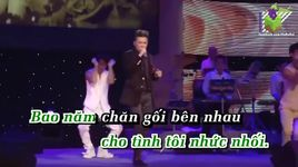 doi em trong mo (new version) (karaoke) - dam vinh hung