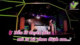 do ve ben cu (karaoke) - lam vu, luu anh loan