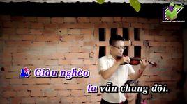 du anh ngheo (karaoke) - huynh nguyen cong bang, luu anh loan