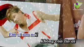 dung danh mat long tin (karaoke) - thai phong vu