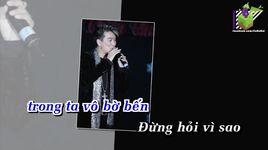 dung hoi vi sao (karaoke) - dam vinh hung
