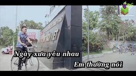 dung nghi cho anh (karaoke) - hoang nhat anh