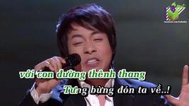 duong ve que huong (karaoke) - quang le