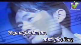 em da quen mot dong song (karaoke) - lam nhat tien