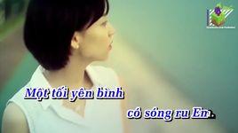 em se quay ve (karaoke) - song huy