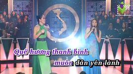 em van mo mot ngay ve (karaoke) - cat lynh, hong diem