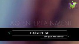 forever love (karaoke) - andy quach, ngo nhu thuy